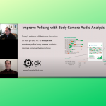 Improve Officer Training with Body Camera Audio Analysis